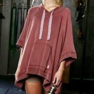 Free People Movement Squared Up Knit Poncho